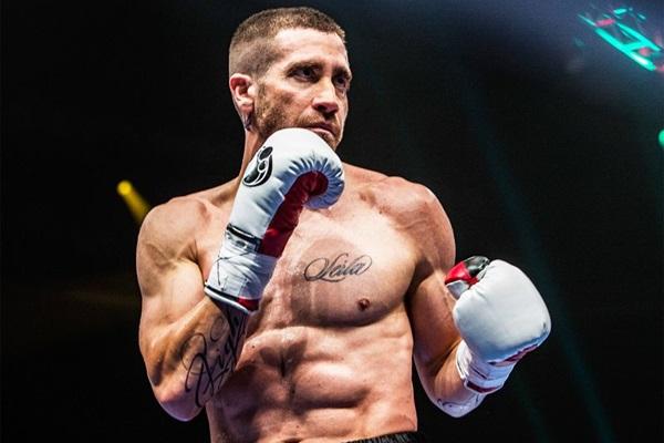 O ator Jake Gyllenhaal tem sido elogiado pela interpretação do lutador Billy Hope (Diamond Filmes/Divulgação)