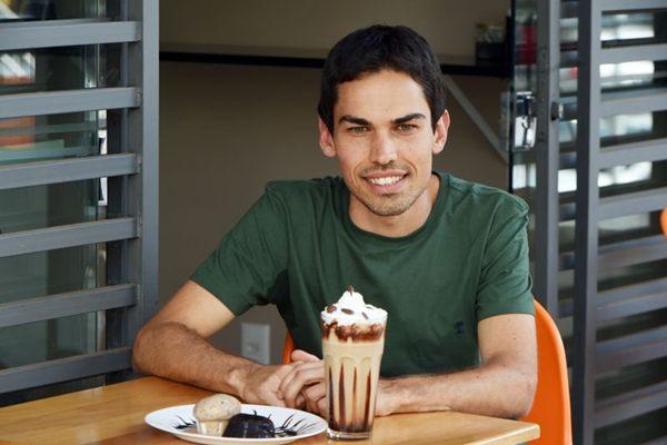 Café e sorvete se encontram em novo endereço na 211 Norte (Ed Alves/CB/D.A Press)