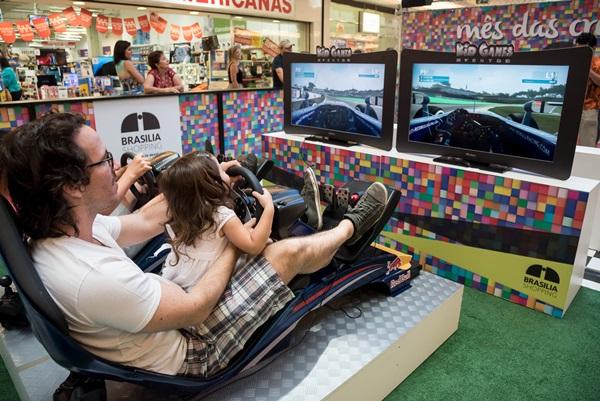 Espaço Kid Games no Brasília Shopping  (Divulgação)