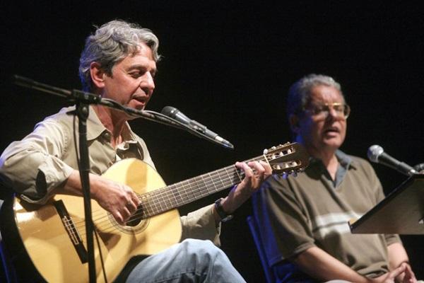 Fernando Brant e Tavinho Moura (Ignacio Costa/Divulgação)