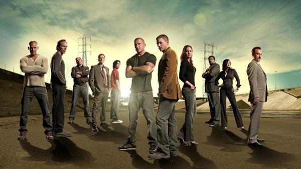 Elenco da série Prison Break, exibida na Fox (Fox/Divulgação)