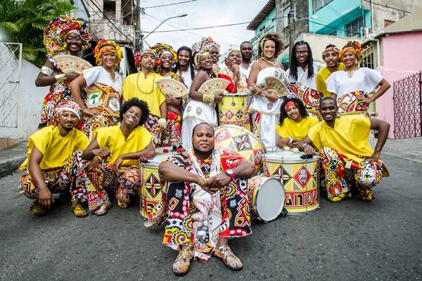 Ilê Aiyê comemora com o show 42 anos da fundação do bloco (André Furtado/Divulgação)