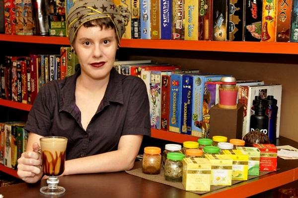Havane Melo, do Moebius Café, respeita o gosto de cada cliente  (Antonio Cunha/CB/D.A Press)