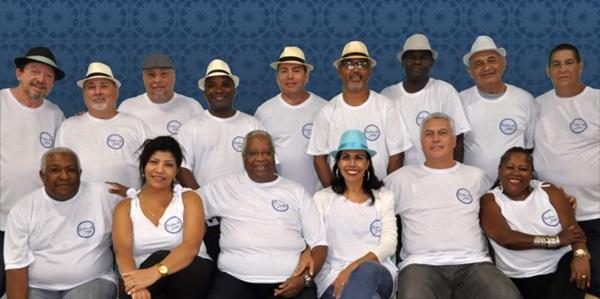 Poetas do Samba se apresentam no clube ASSTJ (SCES, Tc. 1) (Abébé Produções/Divulgação)