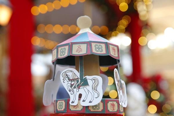 O carrossel é a principal atração do Natal do ParkShopping  (Divulgação )