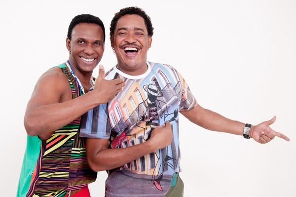 Beto Jamaica e Cumpadi Washington, da Banda É o tchan (Objetiva Comunicação/Divulgação)
