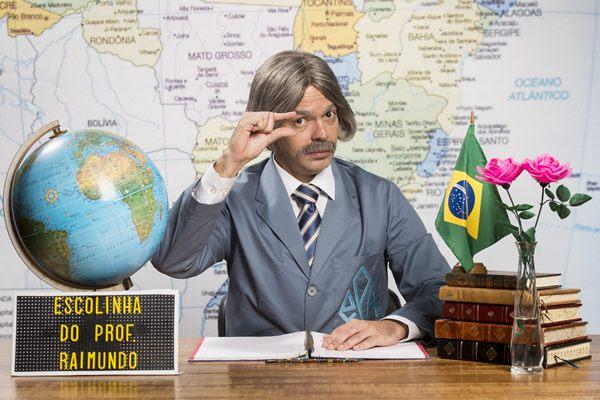 Bruno Mazzeo dará vida ao professor Raimundo eternizado pelo pai Chico Anysio  (João Miguel Júnior/Divulgação)