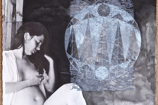 A Lua é uma das fontes de inspiração para as obras de Luiz Gallina (Crédito: LGN/Reprodução)