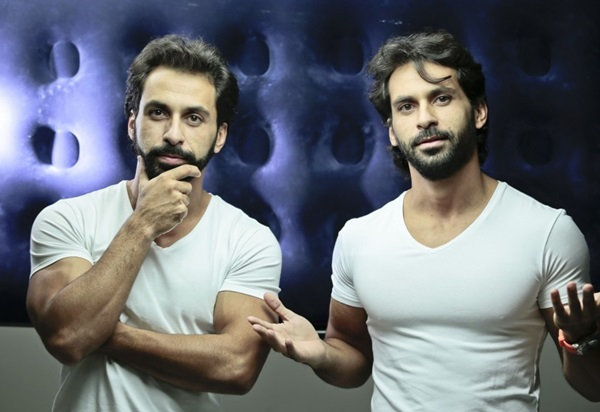 Fazem parte do duo Twin Music os irmãos Fabrício e Fabiano Cravos (Divulgação/Twins Music)