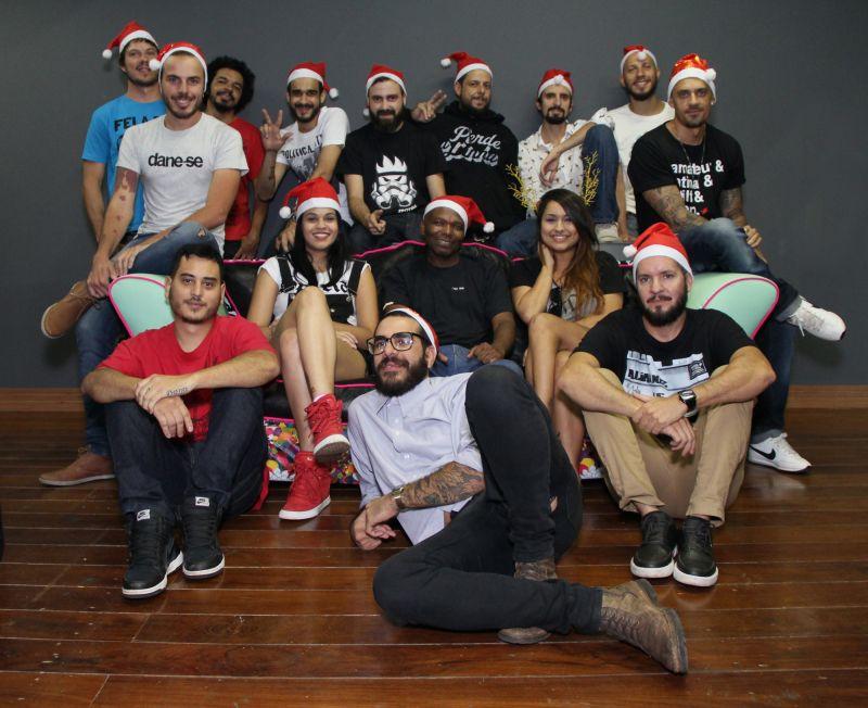DJs e cantores que se apresentam na festa Makossa especial de Natal (Caio Peixoto/Divulgação)