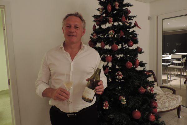 Laurent Bonfils, produtor de vinhos franceses (Liana Sabo/CB/D.A Press.)