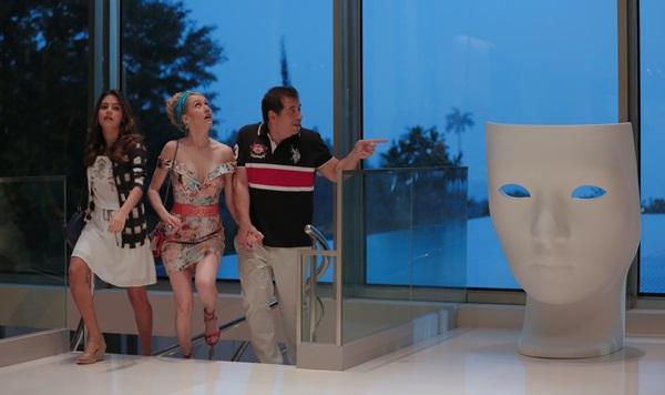 No longa, o protagonista participa de um concurso do Caldeirão do Huck (Gabriel Borges/Divulgação)