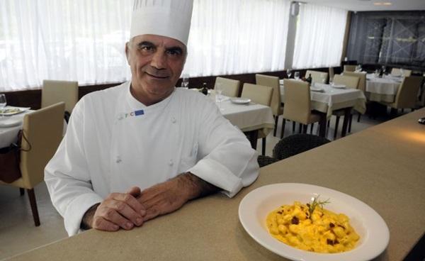 Rosario Tessier mata as saudades das tradições italianas em sua tratoria (Bruno Peres/CB/D.A Press)