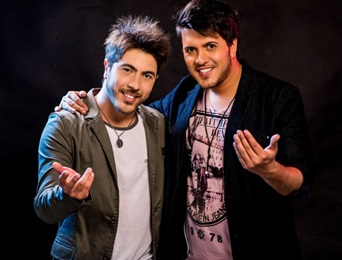 Henrique & Ruan foram destaque na balada sertaneja da capital (Rodrigo Carletti/Divulgação)