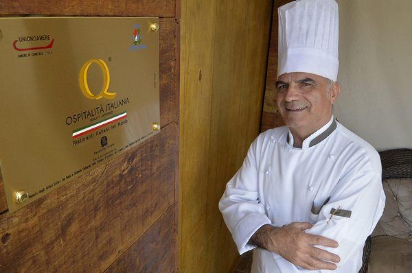 Chef Rosário da Trattoria do Rosário (Marcelo Ferreira/CB/D.A Press)