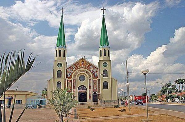 Igreja Nossa Senhora da Penha (Matriz) - Jaraguá (Internet/Reprodução)