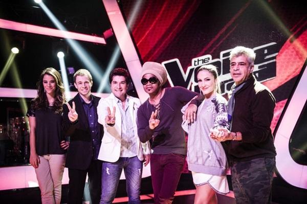 Da equipe do antigo The Voice, somente Carlinhos Brown continua para a versão kids (João Miguel Junior/TV Globo)
