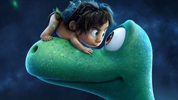 A relação entre Spot e Arlo e os efeitos visuais são os trunfos da animação  (Pixar/Divulgação. Férias na telona. Filme O bom dinossauro.)
