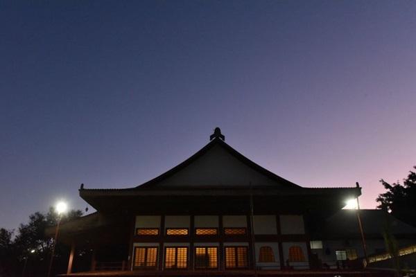A meditação cantada pode ser praticada no Templo Shin, da 315/316 Sul (Zuleika de Souza/CB/D.A Press)