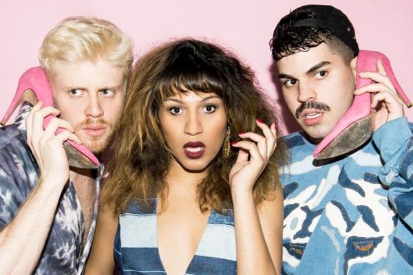 Em 'Veneno' a banda faz parceria com Mr. Catra, Vanessa Jackson e Karol Conká (Deck/Divulgao)