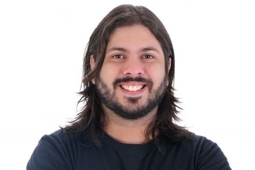 Davi Mansour grava DVD do stand up 'Nem parece que foi do Exército' (Casa de Artistas/Divulgação)
