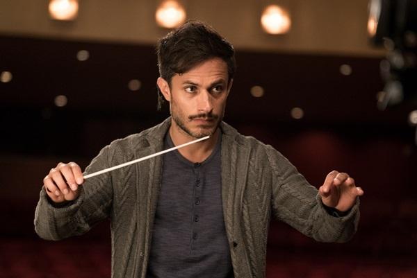 Gael García Bernal ganhou o Globo de Ouro pela performance em 'Sinfonia insana' (Ali Goldstein/Sony Pictures/Divulgação)