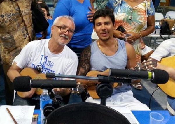 Beto Fininho e Rafael Viana trazem tradição da Portela (Arquivo Pessoal/Divulgação)