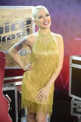 A cantora Nikki participou da última edição do programa The Voice Brasil (Paulo Belote/Divulgação)