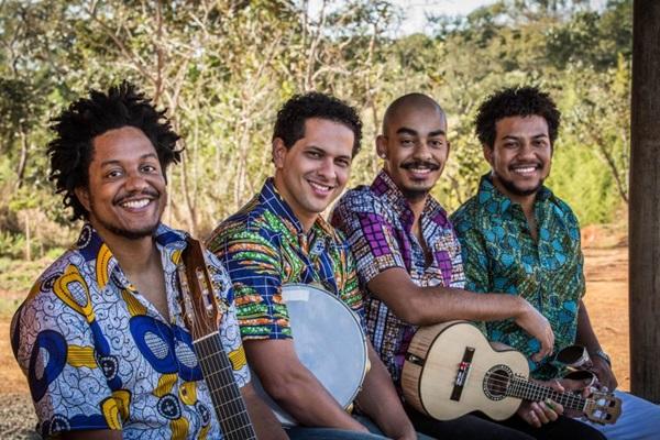 O grupo toca na Terreirada no Círculo do Operário do Cruzeiro (Guto Martins/Divulgação)