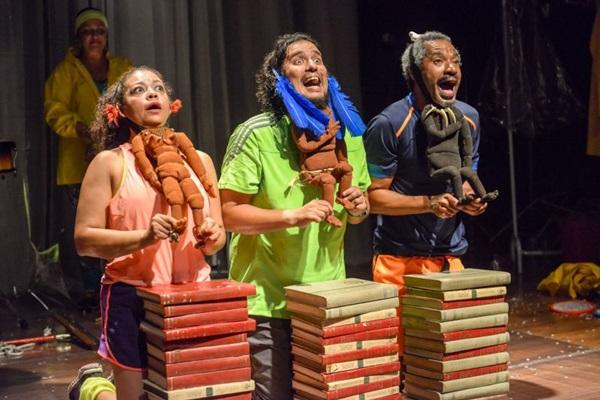 Pitoresca encerra trilogia da trupe do Teatro Nu Escuro (Layza Vasconcelos/Divulgação)
