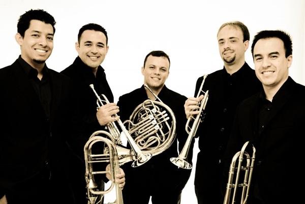 O quinteto Brasília Brass é responsável pela organização do evento (Divulgação Brasília Brass)