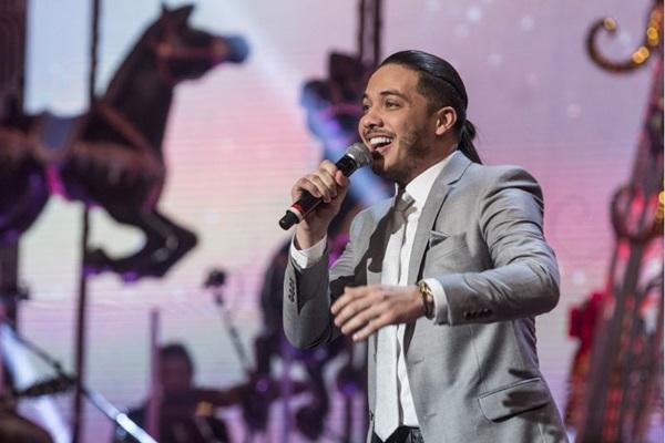 O cantor Wesley Safadão é uma das principais atrações do festival  ( Pedro Curi/TV Globo)