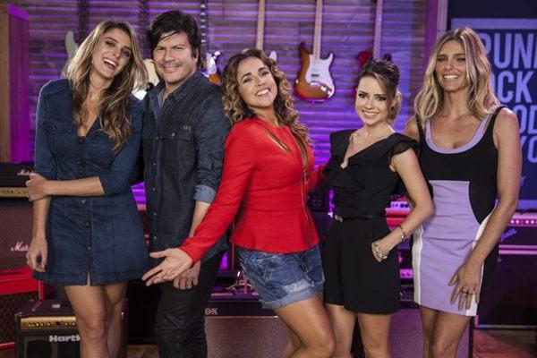 O SuperStar %u2014 comandado por Rafa Brites, Paulo Ricardo, Daniela Mercury, Sandy e Fernanda LIma %u2014 está à procura de uma nova banda (Pedro Curi/ Globo)