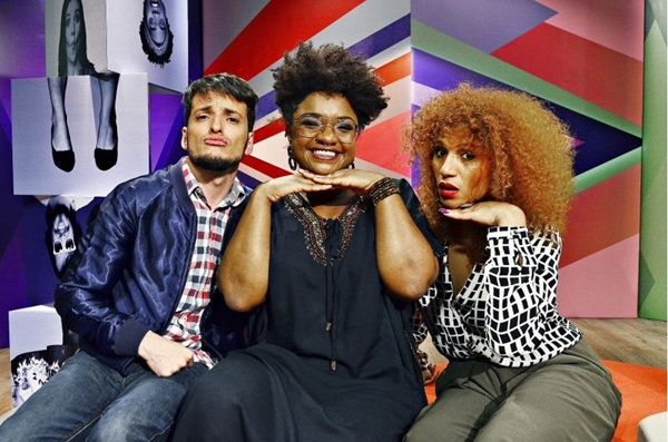 O programa 'Estação plural' é totalmente voltado para o público LGBT (TV Brasil/Divulgação)