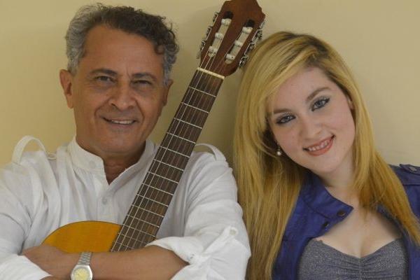 Pai e filha se apresentam no Feitiço Mineiro, hoje, às 21h30 (Yosikazu Maeda/Divulgação)