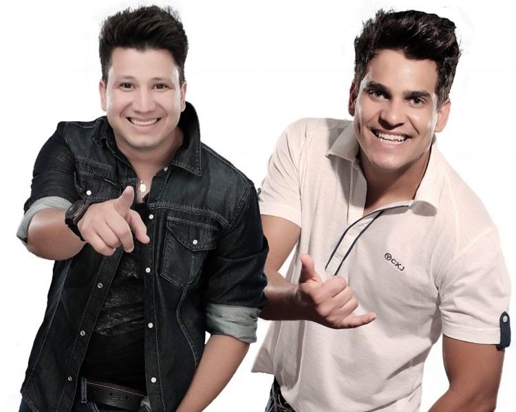 A dupla Cleber & Kauan se apresenta na Bamboa para lançar o DVD Sonho. (Santa Fé Hall Brasília/Divulgação)