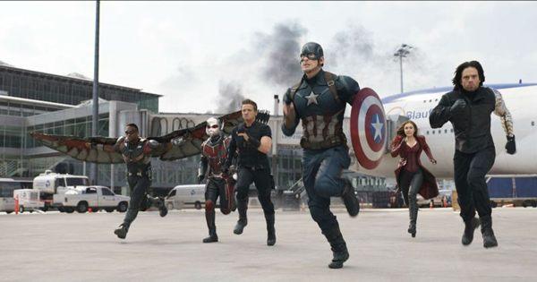 Capitão América terá apoio de Falcão, Homem-Formiga, Gavião Arqueiro Feiticeira Escarlate e Soldado Invernal (Marvel/Divulgação)