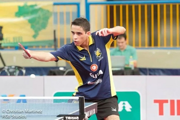 Murilo Rodrigues exalta o tênis de mesa: um dos esportes mais complexos do mundo (Christian Martinez/RGB Studios)