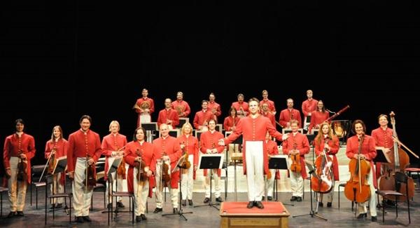 A turnê da orquestra austríaca Strauss Capelle faz parte do projeto Sinfonia Solidária (Arquivo Pessoal)