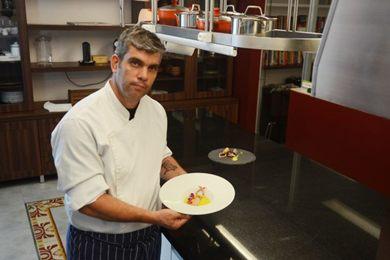 Espumante e lagostim: aposta do personal chef Henrique Salsano (Jhonatan Vieira/Esp. CB/D.A Press)