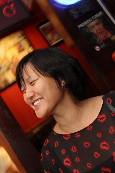Jenny Choe gosta de frequentar os eventos noturnos do dulcina aos sábados  (Lula Lopes/Esp. CB/D.A Press)