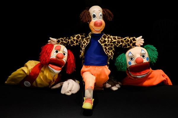 Rocambole e Bolacha querem salvar o circo Pano de Roda (Bagagem Cia. de bonecos/ Divulgação )