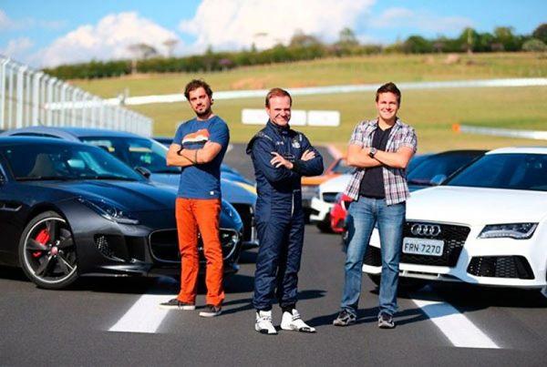 Programa Acelerados apresenta matérias sobre o tema automotivo no País?. (SBT/Divulgação)