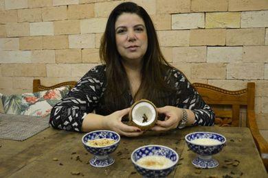 Adriana Wood: canjica feita em três versões no We Café (Andre Violatti/Esp. CB/D.A Press)