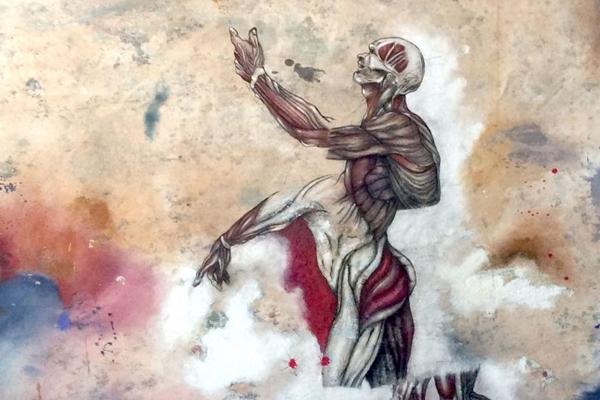 Em Estrangeiro o corpo representa o prazer e a perdição do homem  (Newton Scheufler/Divulgação)