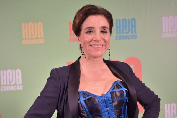 Na novela 'Haja coração' a atriz mostra sua vertente dramática  (Globo/Caiuá Franco)