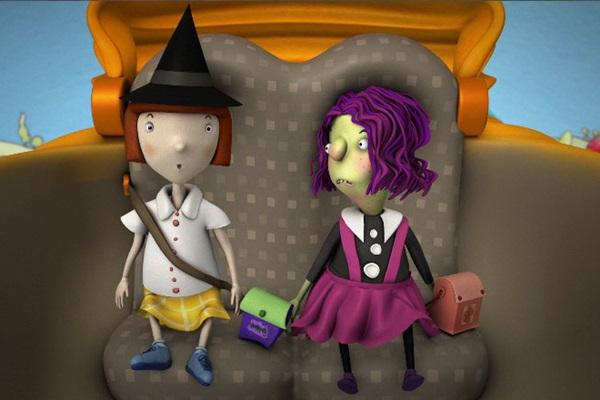 Trudi e Kiki, de Eva Furnari, é uma das animações da mostra (Reprodução/Internet)