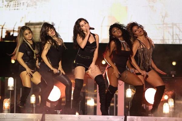 Fifth Harmony apresenta a turnê 7/27 na capital  (Fred Thornhill/Divulgação)