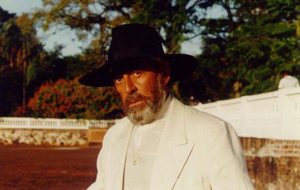 O italiano  Jeremias Berdinazzi foi um dos papéis de destaque na trajetória de Raul Cortez na tevê    (Globo/CEDOC)