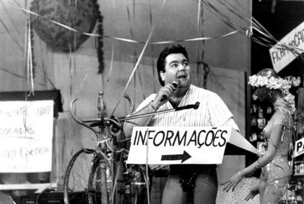 Fausto Silva já reclamava dos técnicos do programa no antigo programa (Band/Divulgação)